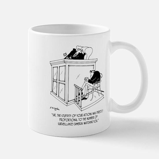 Crime Cartoon 7348 Mug