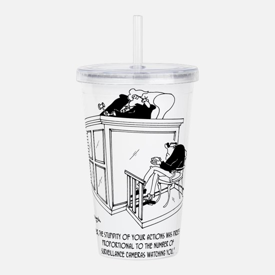 Crime Cartoon 7348 Acrylic Double-wall Tumbler