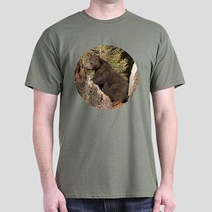 Black Bear Cub Dark T-Shirt