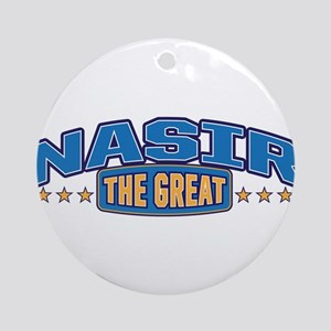 The Great Nasir Ornament (Round)