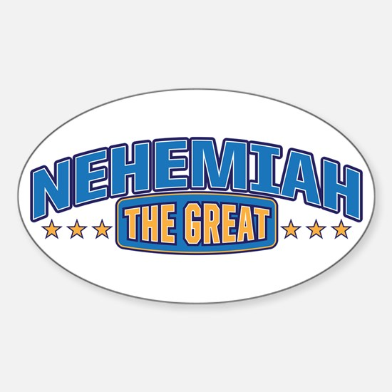 The Great Nehemiah Decal