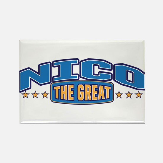 The Great Nico Rectangle Magnet