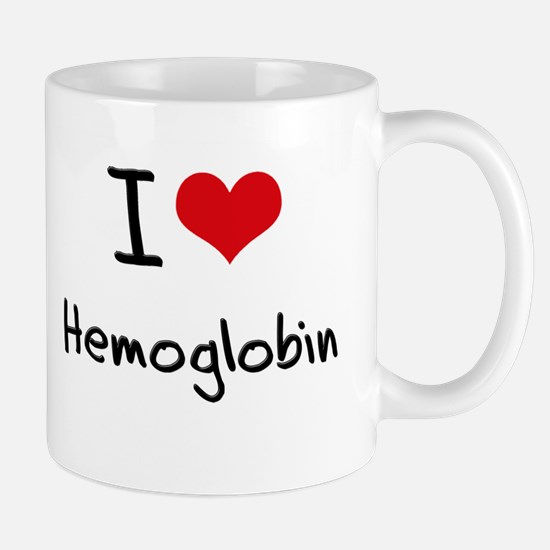 I Love Hemoglobin Mug