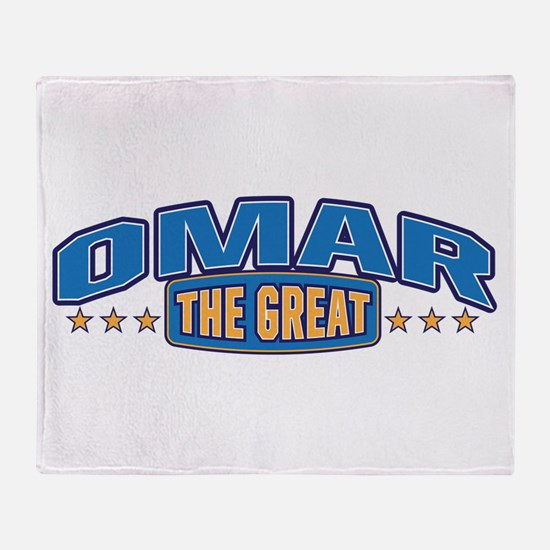 The Great Omar Throw Blanket