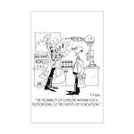 Science Cartoon 4735 Mini Poster Print
