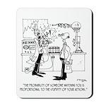Science Cartoon 4735 Mousepad
