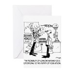 Science Cartoon 4735 Greeting Cards (Pk of 10)