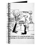 Science Cartoon 4735 Journal