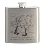 Science Cartoon 4735 Flask