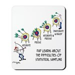 Statistics Cartoon 9225 Mousepad