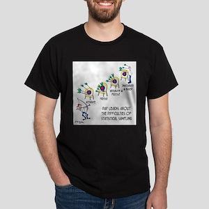 Statistics Cartoon 9225 Dark T-Shirt