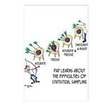 Statistics Cartoon 9225 Postcards (Package of 8)