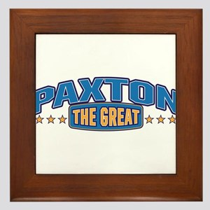 The Great Paxton Framed Tile