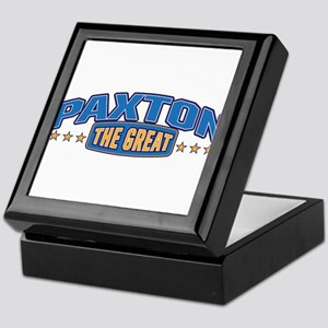 The Great Paxton Keepsake Box