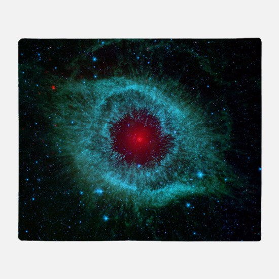 Helix Nebula Throw Blanket