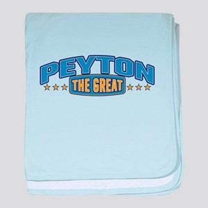 The Great Peyton baby blanket