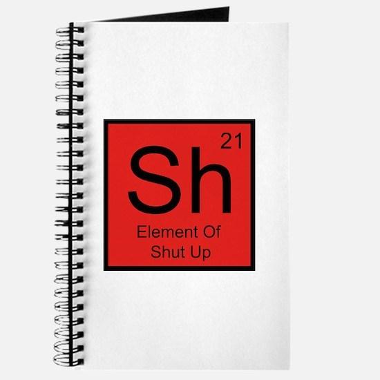 Sh Element For Shut Up Journal