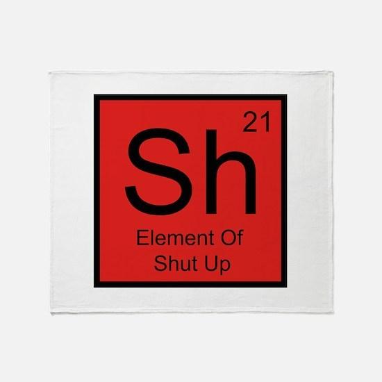 Sh Element For Shut Up Stadium Blanket