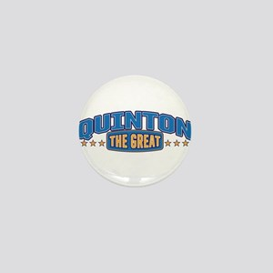 The Great Quinton Mini Button