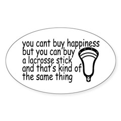 Lacrosse Happiness Decal