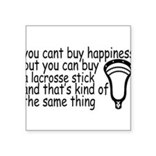 Lacrosse Happiness Sticker