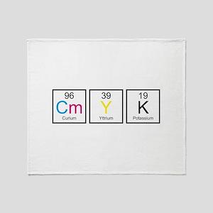 CMYK Elements Stadium Blanket