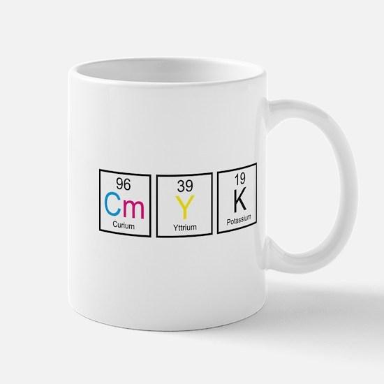 CMYK Elements Mug
