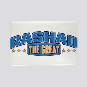 The Great Rashad Rectangle Magnet