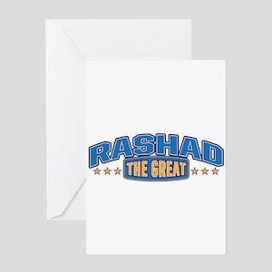 The Great Rashad Greeting Card