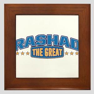 The Great Rashad Framed Tile