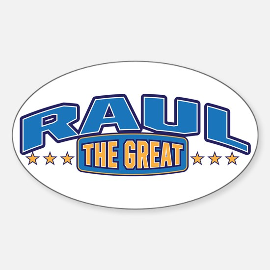 The Great Raul Decal