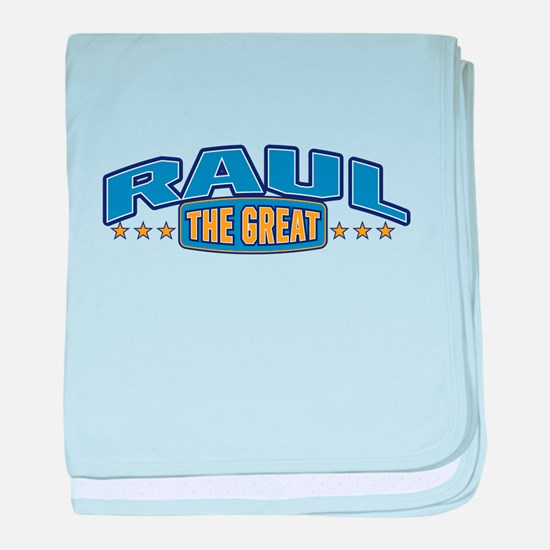 The Great Raul baby blanket