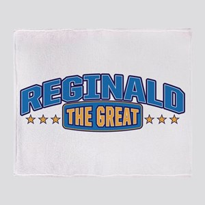 The Great Reginald Throw Blanket