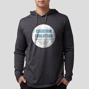 Creation vs Evolution Mens Hooded Shirt