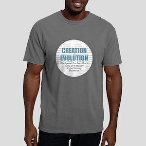 Creation vs Evolution Mens Comfort Colors Shirt