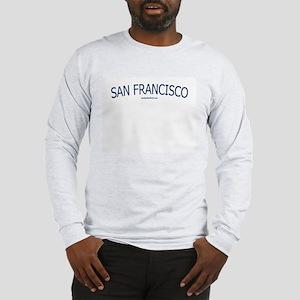San Francisco - Ash Grey Long Sleeve T-Shirt