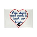 Touch Your Heart v4 Rectangle Magnet