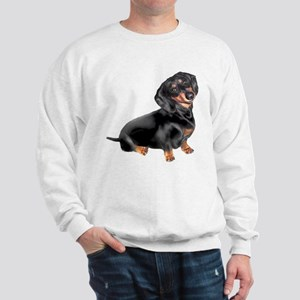 Black-Tan Dachshund Sweatshirt