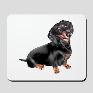 Black-Tan Dachshund Mousepad