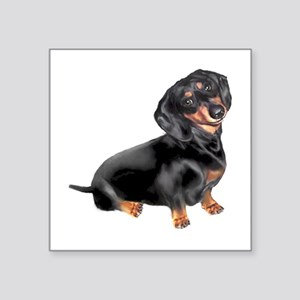 Black-Tan Dachshund Sticker