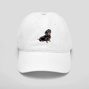 4d24f8ff862 Black-Tan Dachshund Baseball Cap