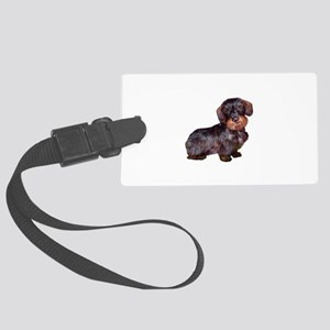Wire Haired Dachshund (#1)q Large Luggage Tag