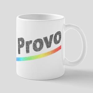 Vintage Provo Rainbow Mug