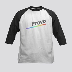 Vintage Provo Rainbow Kids Baseball Jersey