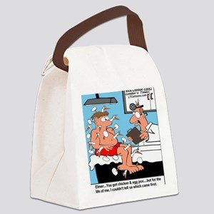 Chicken Egg Pox Canvas Lunch Bag