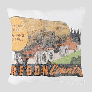 OR Woven Throw Pillow
