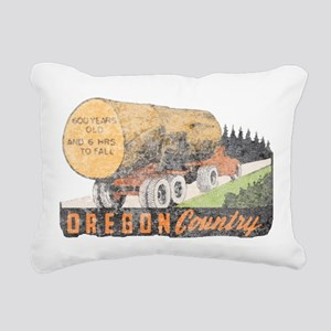 OR Rectangular Canvas Pillow