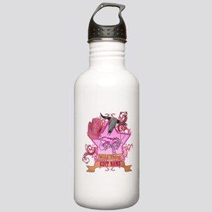 CowGirl Wild Thing edit name text Pink Hat Water B