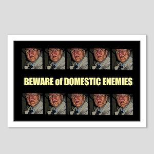 Domestic Enemies Postcards (Package of 8)