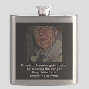 Domestic Enemies Flask